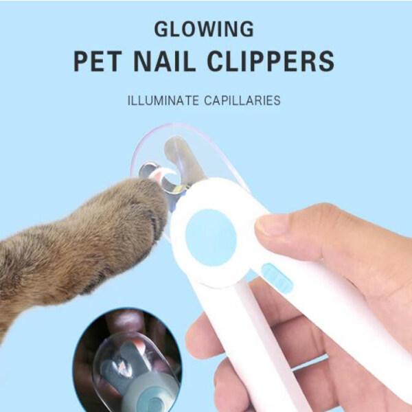 Pet Nail Clipper, Đèn Led Làm Đẹp Chuyên Nghiệp Cho Chó Mèo Claw Chăm Sóc Con Chó Con Clipper