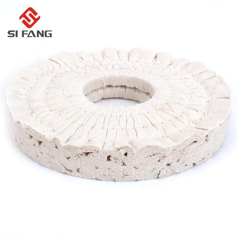 """36Ply Cotton Airway Buffing Wheel Metal Polish Pad For Woodworking Polishing 7/"""""""