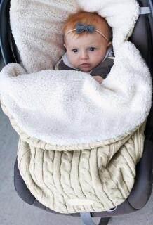 Chăn Em Bé Cho Bộ Đồ Giường Xe Đẩy Túi Ngủ Siêu Mềm Ấm Áp Cho Trẻ Sơ Sinh Bé Trai Bé Gái, Bọc Trẻ Con Bằng Tả Bọc Manta Bebes Trẻ Sơ Sinh 0-12 Tháng Tuổi thumbnail
