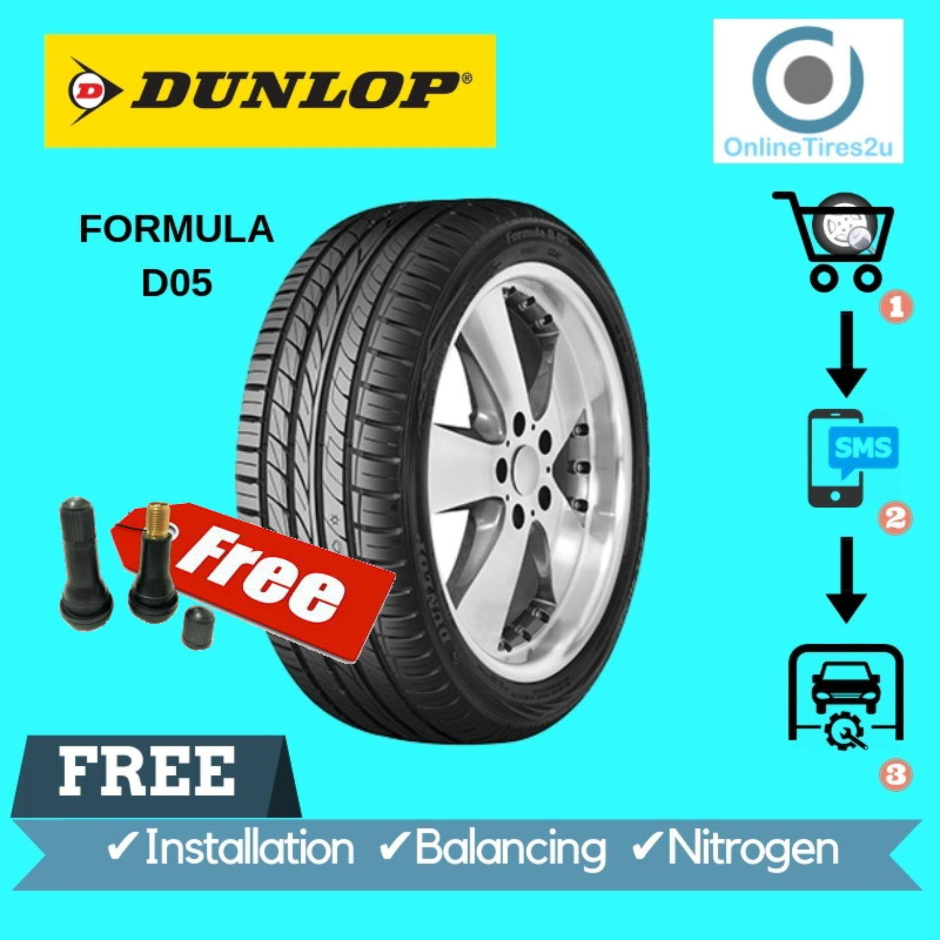 Dunlop Formula D05 - 195/55r15 (with Installation) By Onlinetires2u.