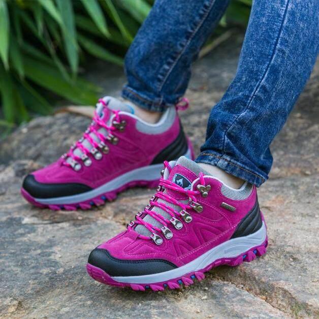 Giày Thể Thao Đi Bộ Ngoài Trời Cho Nữ Giày Leo Núi Leo Núi Không Thấm Nước Thể Thao Giày Thể Thao Bốt Đi Làm Thường Ngày Chống Trượt giá rẻ