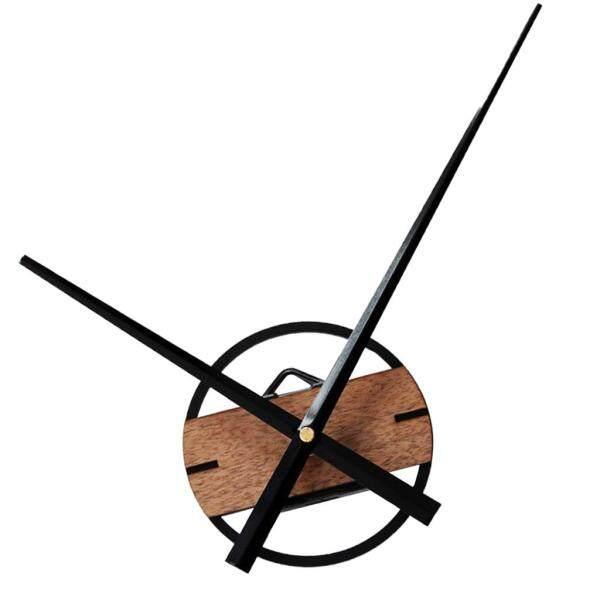 Perfk Modern Wooden Mute Non Ticking Quartz Wall Clock DIY Home Wall Decorative