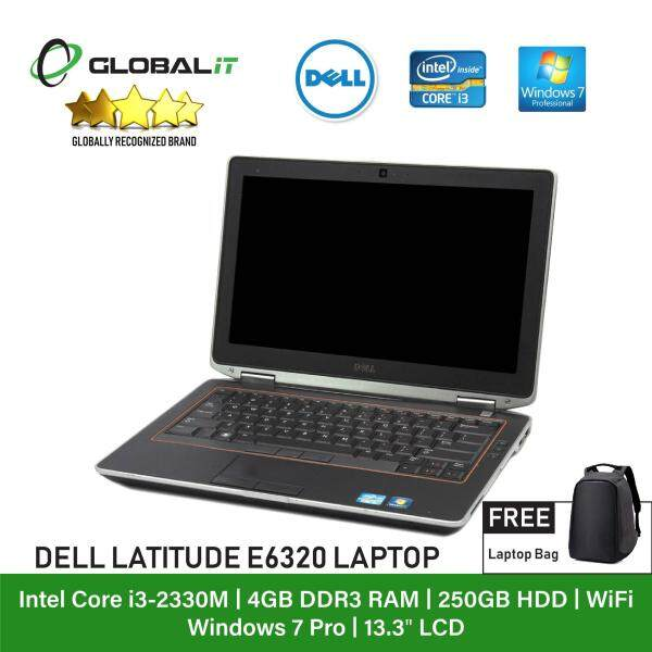 (Refurbished Notebook) Dell Latitude E6320 Laptop / 13.3 inch LCD / Intel Core i3-2330M / 4GB Ram / 250GB HDD / WiFi / Windows 7 Malaysia