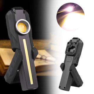 Siêu Sáng COB LED Công Việc Nhẹ Đứng Từ Treo Móc Đèn Đèn Pin Đèn Pin COB thumbnail