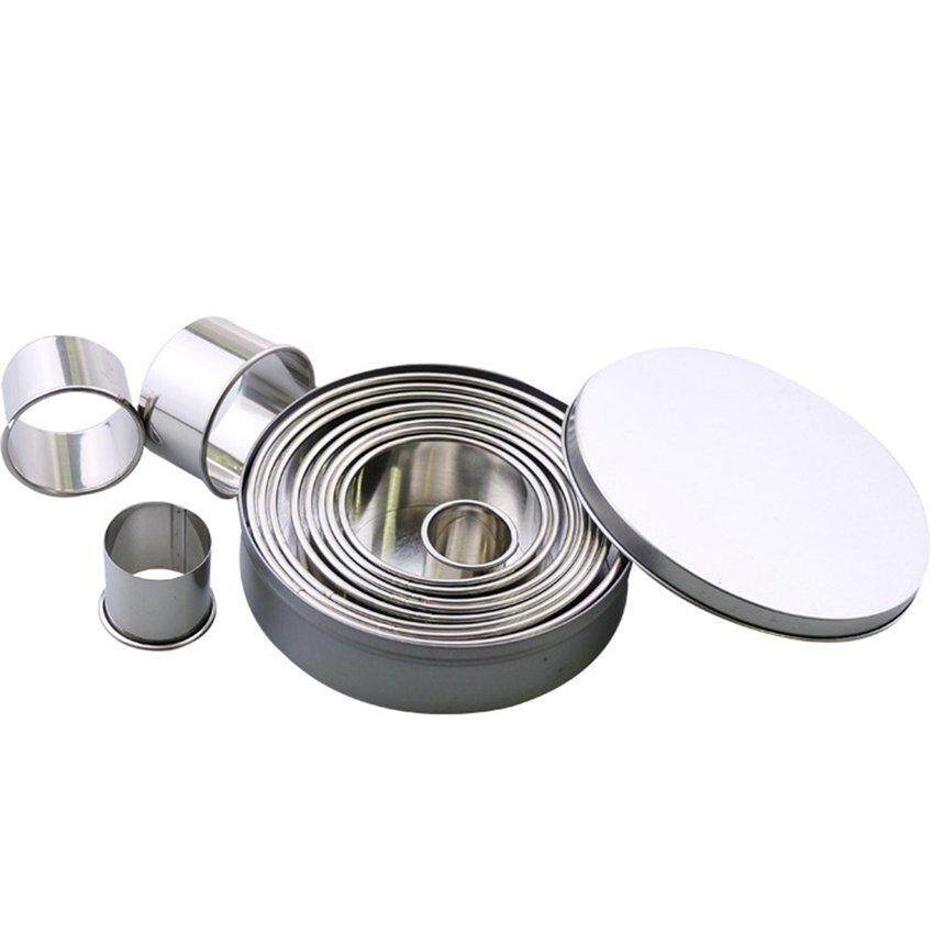 Best Sales Stainless Steel Cookie Cutter Big Round Shape Cookie Mold