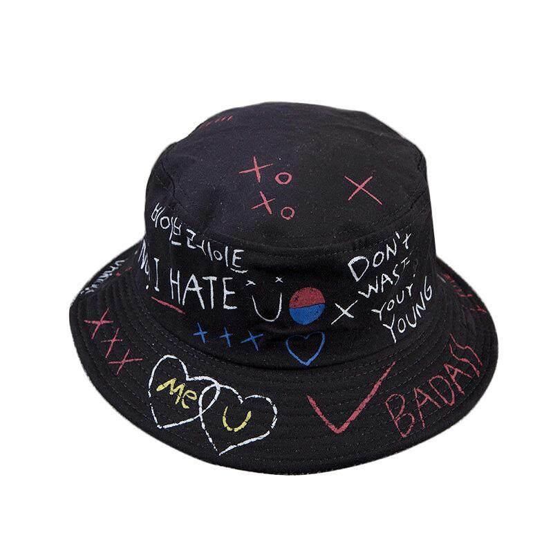 ... musim panas matahari jazz gangster wanita Trilby men CAP topi fedora. Source · Pria Wanita Topi Nelayan Fashion Huruf Graffiti Topi Bundar