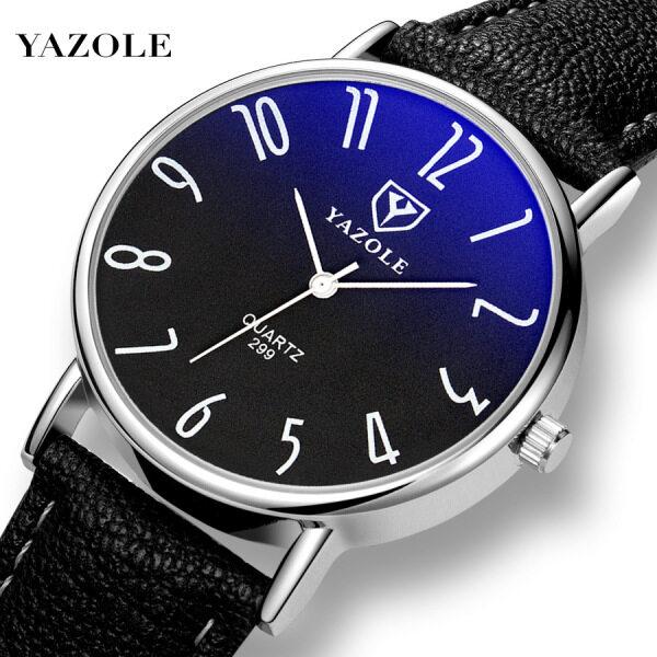 YAZOLE 299 Top Luxury Brand Watch For Man Fashion Sports Men Quartz Watches Trend Wristwatch Gift For Male jam tangan lelaki Malaysia