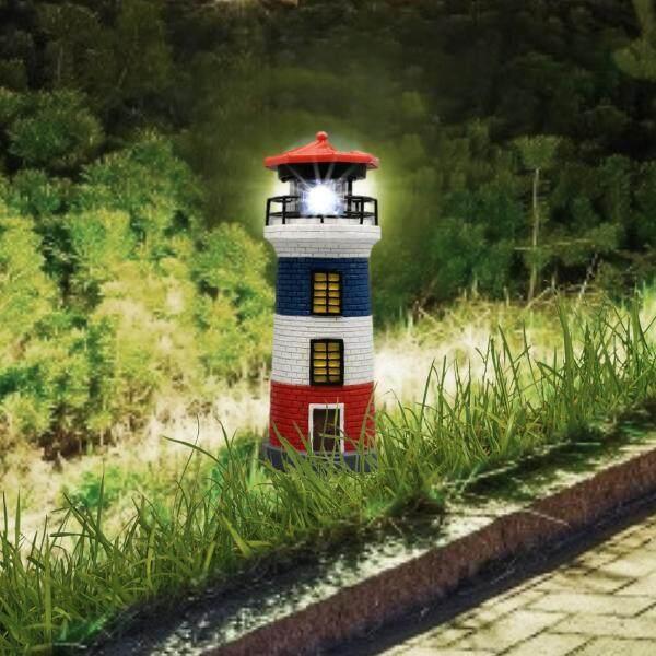 Samber, Năng Lượng Mặt Trời Ngọn Hải Đăng Năng Lượng Mặt Trời Nhựa Cối Xay Gió Tháp Đèn Sân Vườn