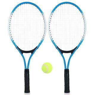 2 Vợt Tennis Trẻ Em Chất Lượng Cao Vợt Tập Với 1 Quả Bóng Tennis Và Túi Bọc Cho Trẻ Em Thanh Niên Trẻ Em Quần Vợt Vợt thumbnail