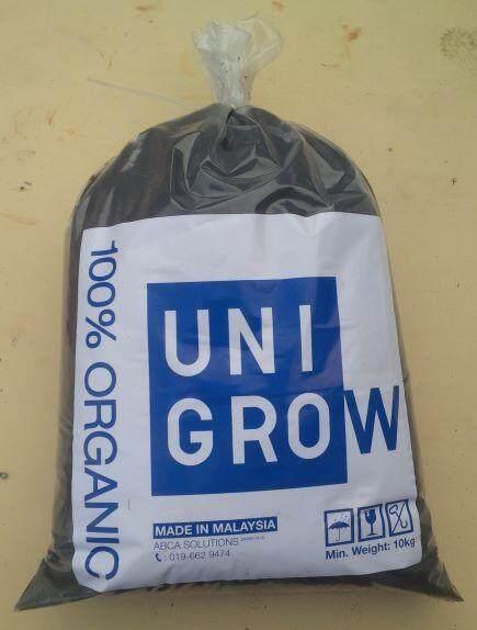Unigrow Organic Compost Palm Oil 10kg Garden Soil Fertilizer (www.unigrow.my)