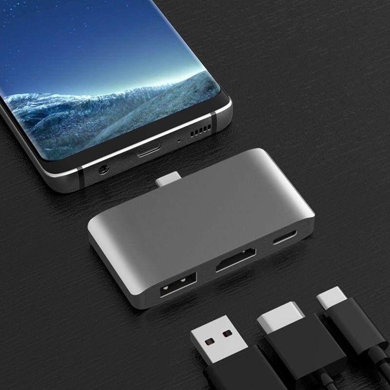 Trung Tâm USB C sang HDMI 4 K Chế Độ DEX cho Samsung Galaxy S8/S9 Nintendo với PD USB 3.0 H