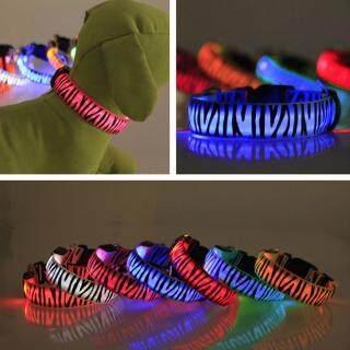 Vòng cổ có đèn LED nhấp nháy, phong cách thời trang, giúp chủ nhìn thấy được thú cưng vào ban đêm, đảm bảo an toàn cho chúng Huanhuang - INTL thumbnail