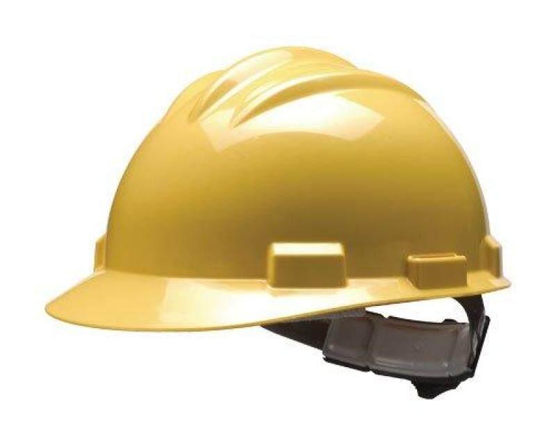 Bullard S51 Safety Helmet (Heavy Duty, Lightweight, Comfort, Attach to Earmuff)