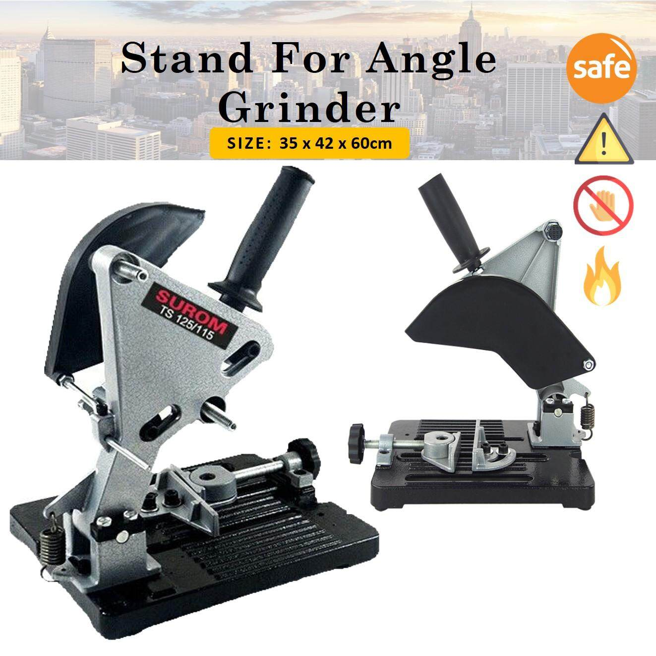 Universal Cutting Holder Angle Grinder Stand Bosch Stanley Support Cast Iron Case Base Frame