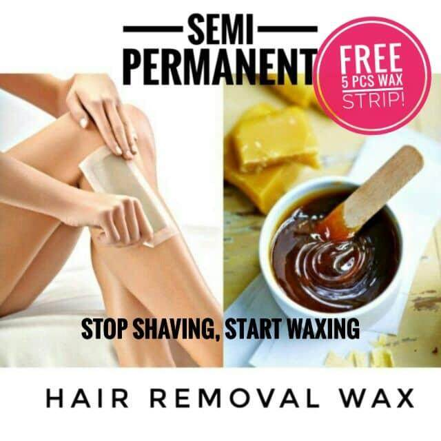 SEMI-PERMANENT HAIR REMOVAL WAX FOR FULL BODY