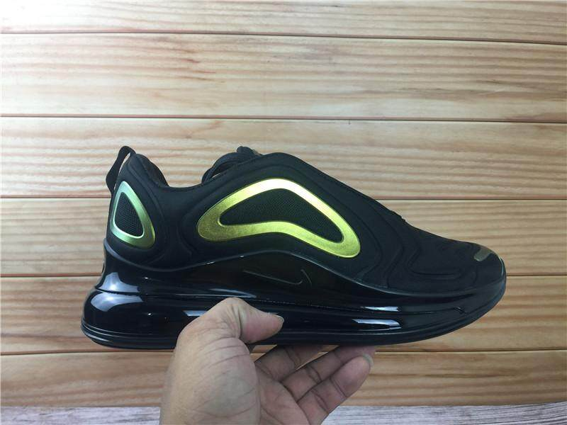 Nike Air Max 720 Black Color Fashion Men Women Sports Running Sneakers