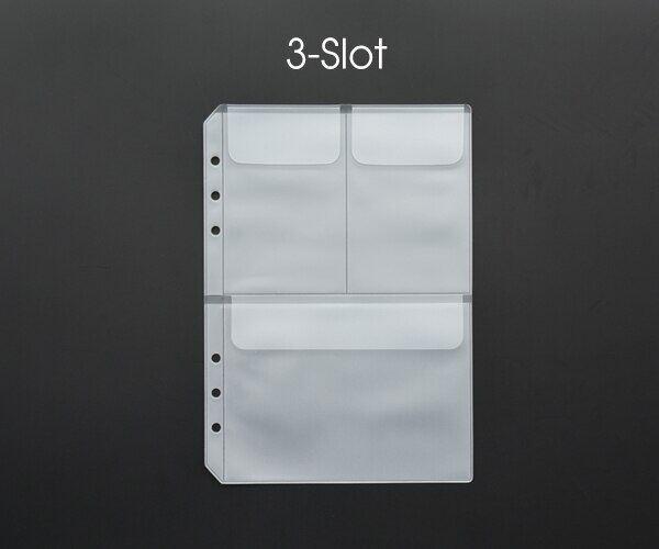 Túi Đựng Bằng PVC Hình Lá Rời Túi Đựng Thẻ Vé Có Nắp A5 A6 Sổ Ghi Chép Xoắn Ốc Vòng Cuốn Nhật Ký Chất Kết Dính