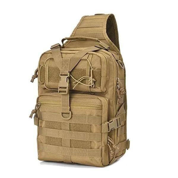 [comebuy88]Man Tactical Sling Chest Bag Backpack Outdoor Shoulder Messenger Pack