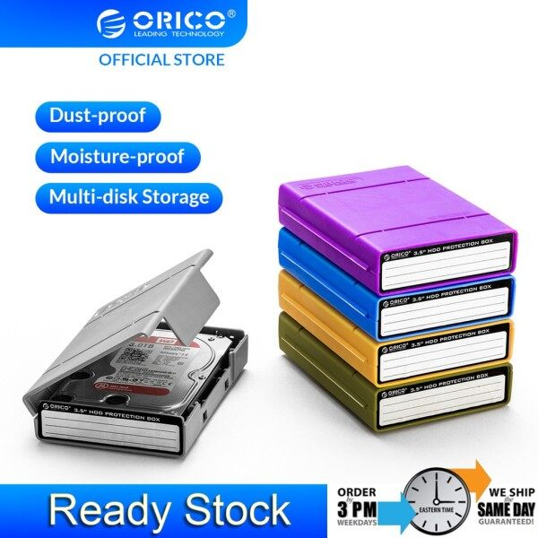 ORICO 3.5-inch hard disk drive multi-color protection box