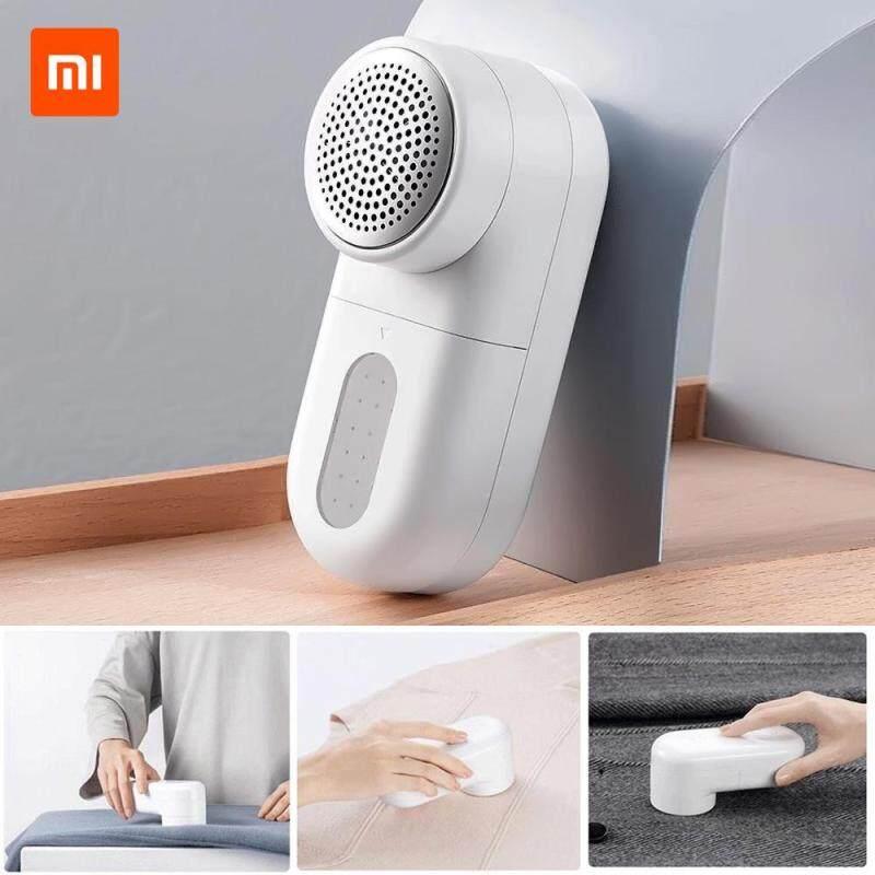 [Giao hàng trong vòng 24 giờ] [Còn hàng] Xiaomi Mijia Lint Removal USB sạc 90 phút độ bền 0.35mm bàn chải nhỏ bảo vệ vải máy cắt tiếng ồn thấp vải Fuzz Máy cạo râu cho áo len Rèm Thảm quần áo viên xơ vải