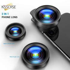 KISSCASE Phone Wide Angle Camera Kits For Universal Mobile Phone Rear Wide-angle Len Selfie Photography For iPhone Huawei Xiaomi