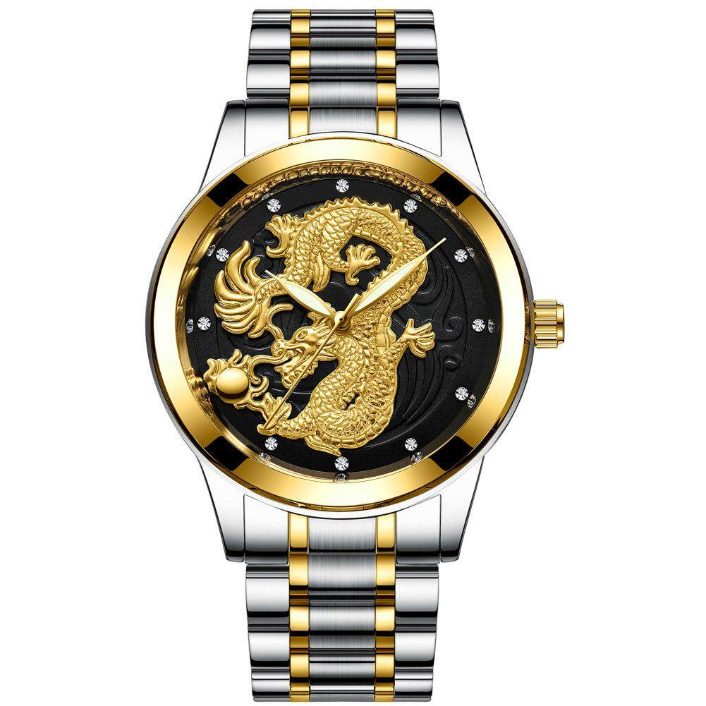 Men Mechanical Waterproof Watch Dragon Business Watches Malaysia