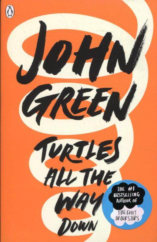 BORDERS Turtles All the Way Down by John Green (Paperback) Malaysia