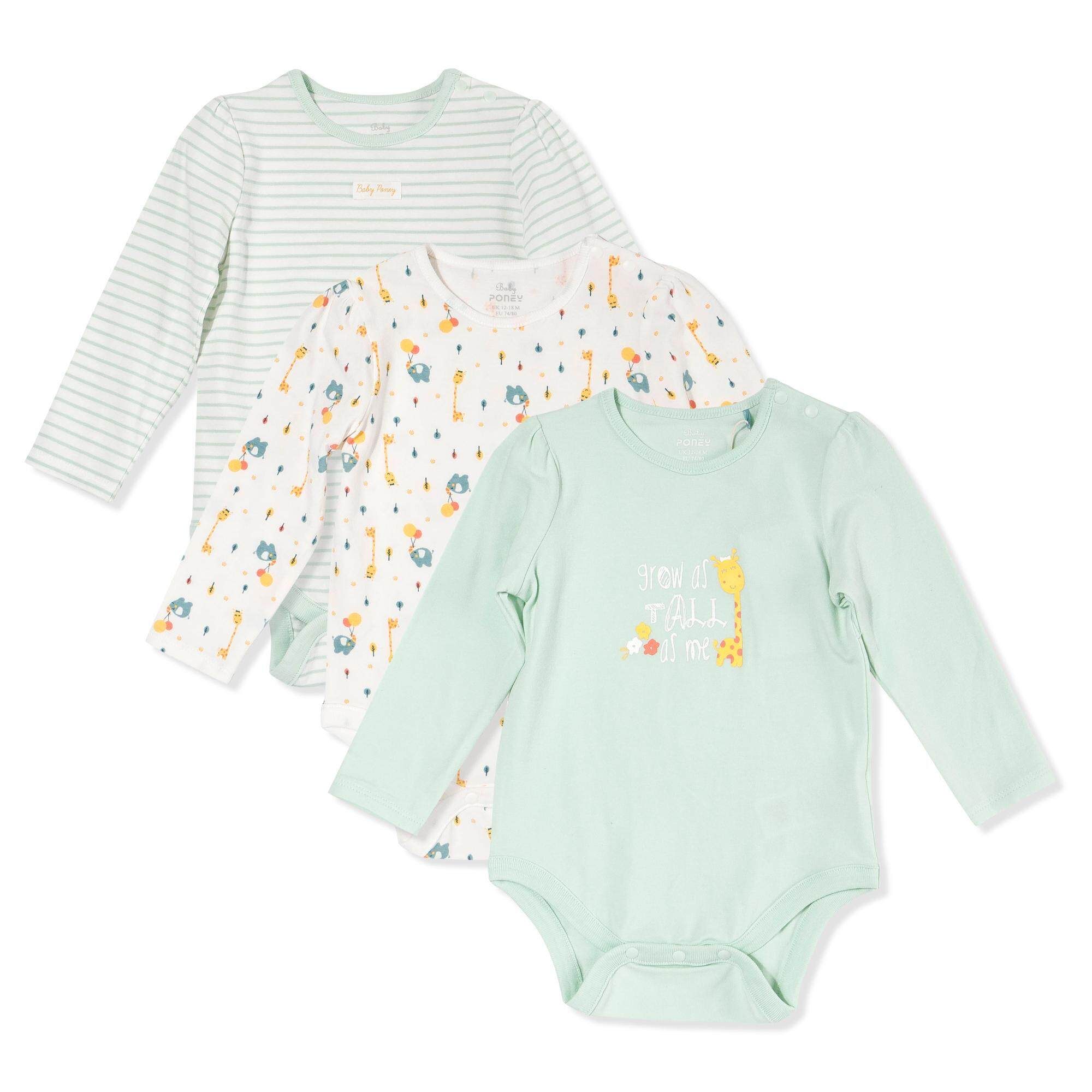 Gentle 0-3 Month Patterned Floral Plain Long Sleeve Bodysuits Soft And Antislippery Clothing, Shoes & Accessories