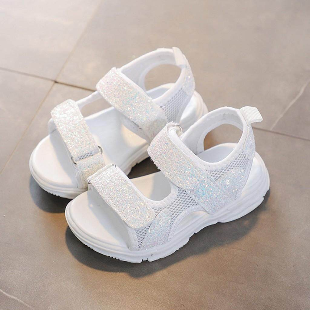 a55027a287 Z-Children Baby Girls Boys Girls Mesh Bling Sequins Sport Sneakers Sandals  Shoes-Free shipping