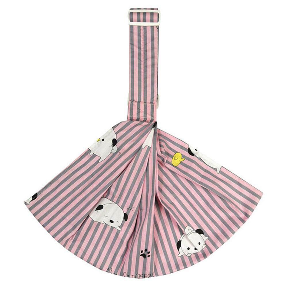 Supermall เด็กกระเป๋าสะพายเฉียงแนวนอนผ้าฝ้ายด้านหน้าสลิงสำหรับทารกทารก