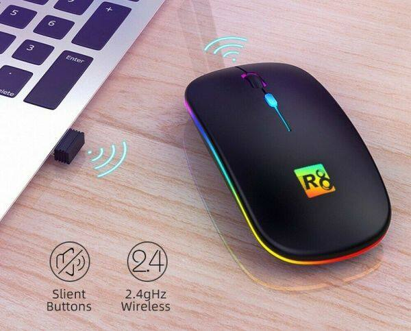 (Ready Stock)Smart Shop 1600dpi USB Wireless Optical Mouse for Laptop Notebook Malaysia