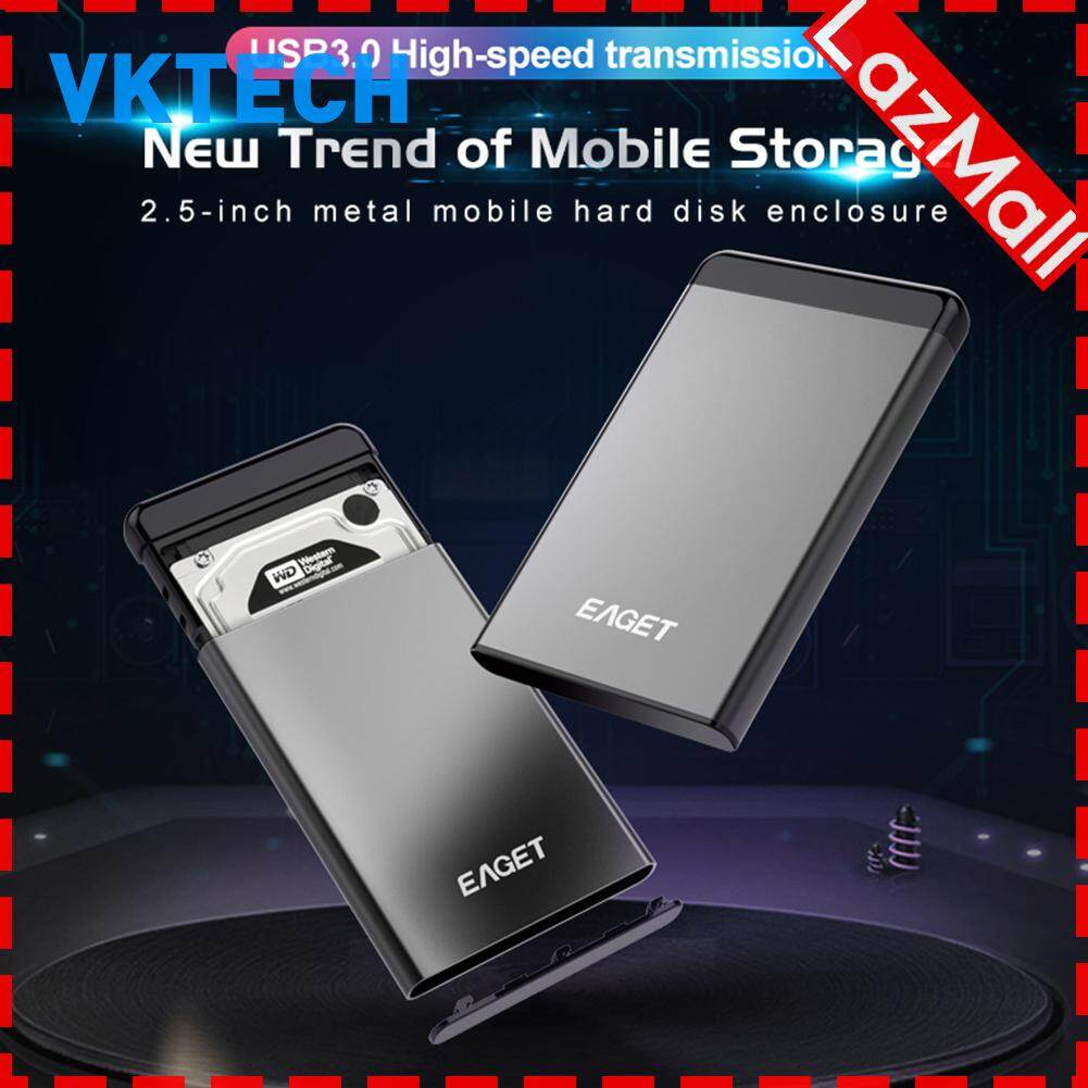 2.5 Inch Usb 3.0 Sata Ssd Hard Drive Enclosure Case Mobile Hard Disk Box Computer Accessories (case Only).