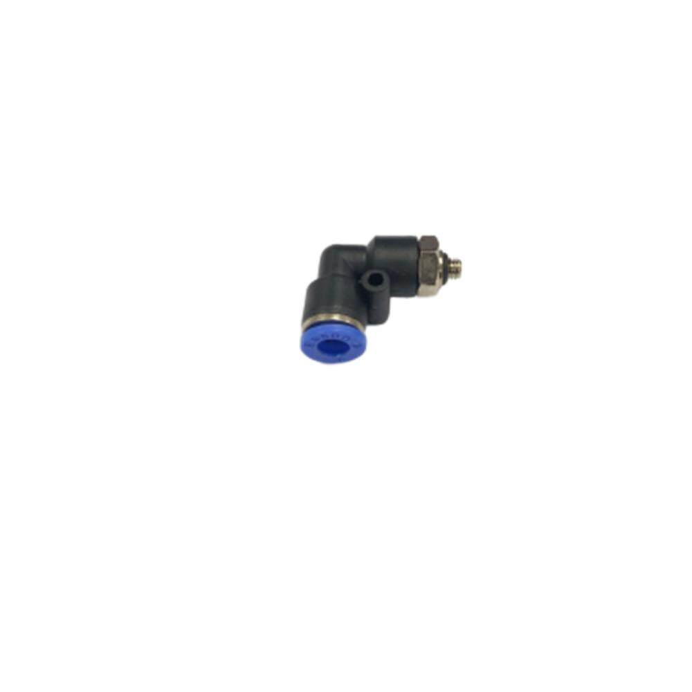 Pl06-M5 6mm X M5 Male Elbow Pneumatic Air Push In Quick Fittings By Hong Sheng Store.