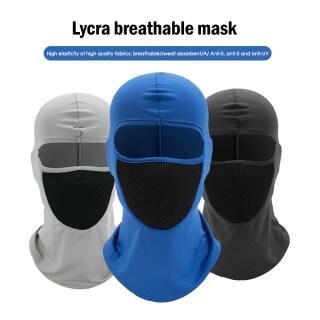 Hàng Có Sẵn khẩu Trang Mũ Bảo Hiểm Kín Mặt Mũ Ấm Áp Mùa Đông Mũ Balaclava 1 Lỗ Mũ Trùm Xe Máy Thể Thao Đạp Xe thumbnail