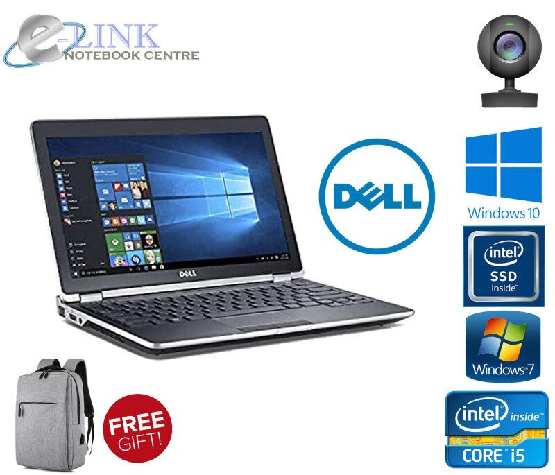 Dell Latitude E6530 Core i3 i5 i7 3GEN  / 4-8GB RAM / 250GB HDD / 120-240GB SSD / Windows 7 - 10/HDMI PORT Malaysia