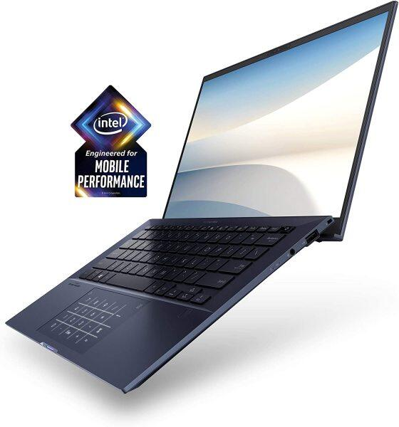 "ASUS ExpertBook B9450 Thin and Light Business-Laptop, 14"" FHD, Intel Core i7-10510U-Processor, 512GB PCIe SSD, 16GB-RAM, Windows 10 Pro, Up to 24 Hrs-Battery Life,-Sleeve Malaysia"