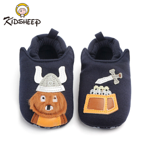 Kidsheep Newborn Baby Boy Girl Pram Shoes Baby Shoes Infant Casual Shoes Toddler Pre Walker Trainers Anti-slip Shoes giá rẻ