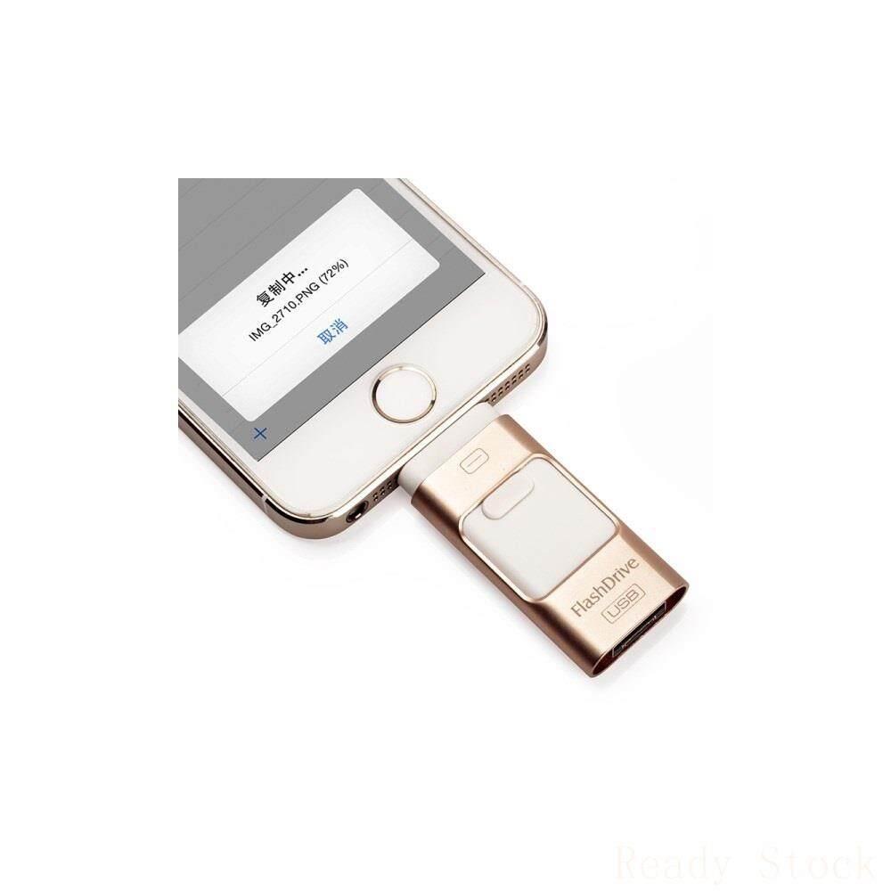 Giá Ổ Đĩa Flash USB 32GB On-The-Go Có Cổng Micro USB Và Lightning 8Pin