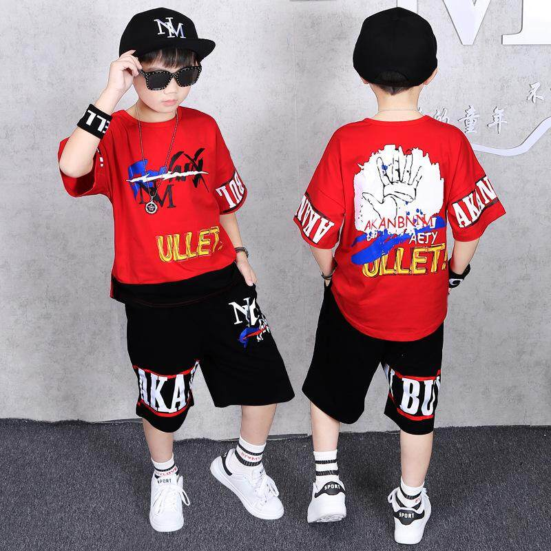 c8de23f57548d Hot Sale! 2019 Summer Children Clothing Sets Baby Boys Girls T Shirts+shorts  Pants