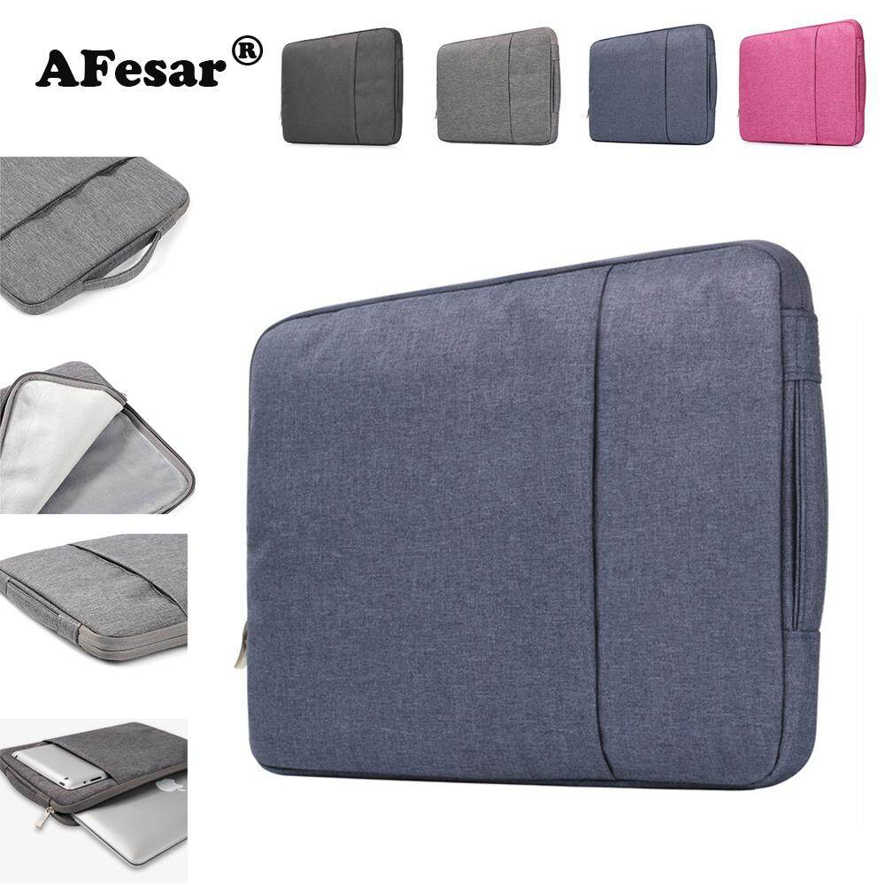 Universal Laptop Bag Sleeve Case Cover Notebook Pouch For MacBook Air Pro  11.6 13.3 15.3 15.6 inch