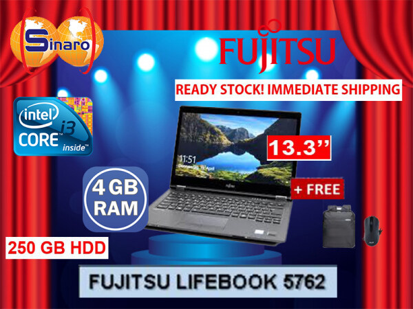 FUJITSU LIFEBOOK 5762 *REFURBISHED / READY STOCK / SAME DAY POST / HARI RAYA AIDILFITRI PROMO Malaysia