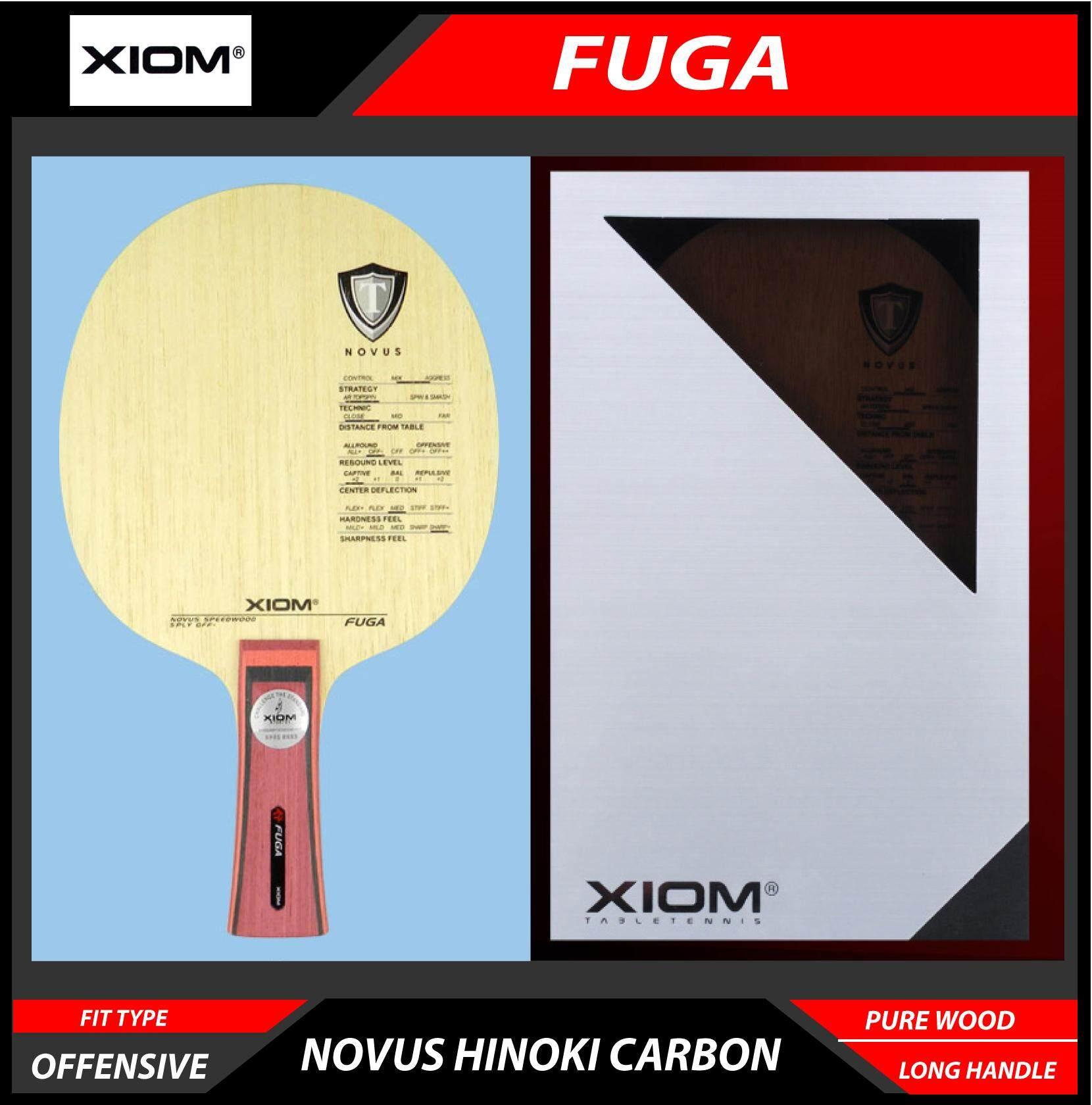 NEW Xiom Musa I RubberTable Tennis PingPong