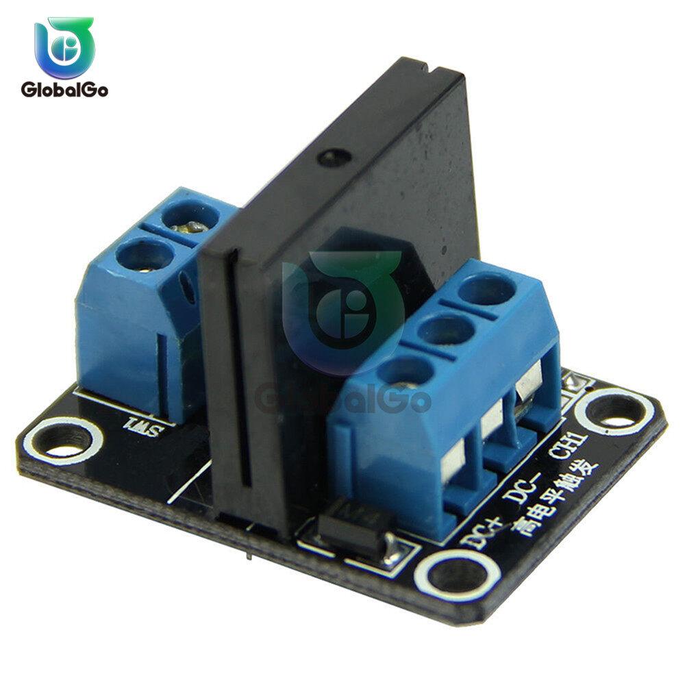 G3mb-202p Điện Tử Thông Minh 1 Kênh Cách 5 V Mô-đun Rơle DC Trạng Thái Rắn Rơle Cấp Cao Cho Bộ Tự Làm Arduino