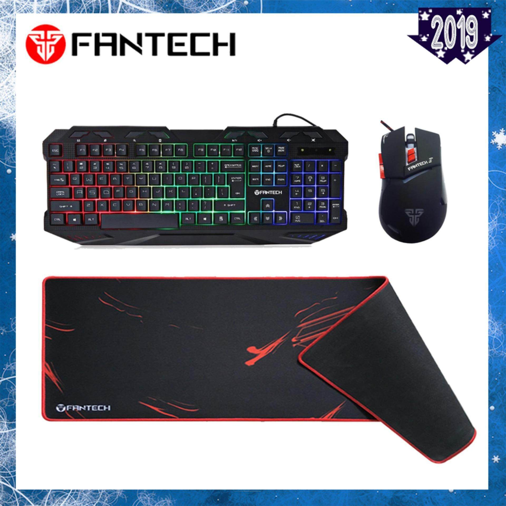 c2f80fef758 Combo Fantech K10 Backlit Pro Gaming Keyboard + Fantech GRAGAS Z3 Speed  Boost Gaming Mouse +