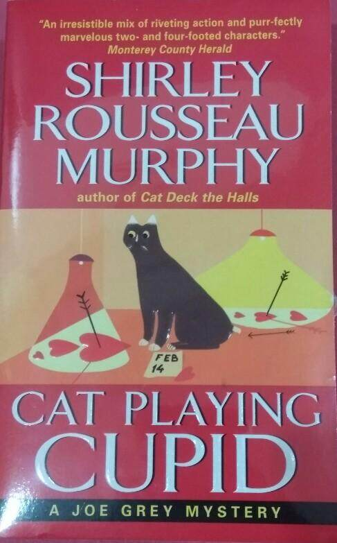 Cat Playing Cupid Shirley Rousseau Murphy Mystery Novel By Little Red Riding Book.