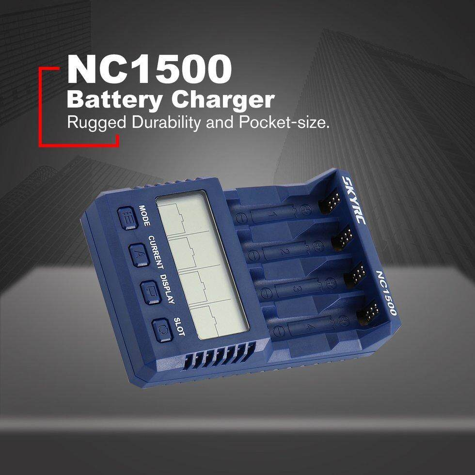 Cozy SKYRC NC1500 AA/AAA NiMH Battery Charger Analyzer Batteries Charger Discharger