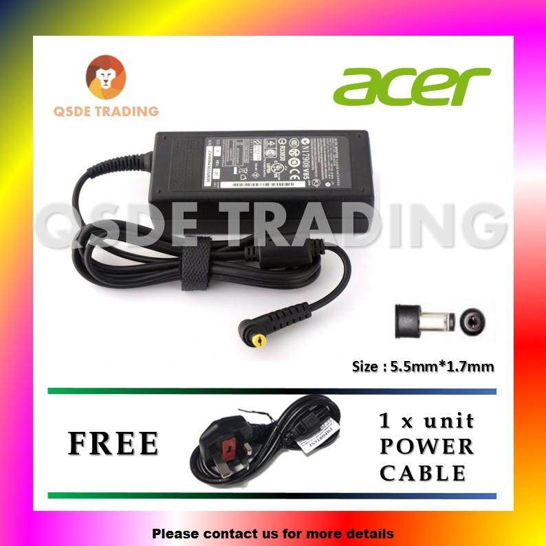 (Free Power Cable) Replacement Laptop/NotebookAC Adapter Charger for Acer Aspire 5315-2485