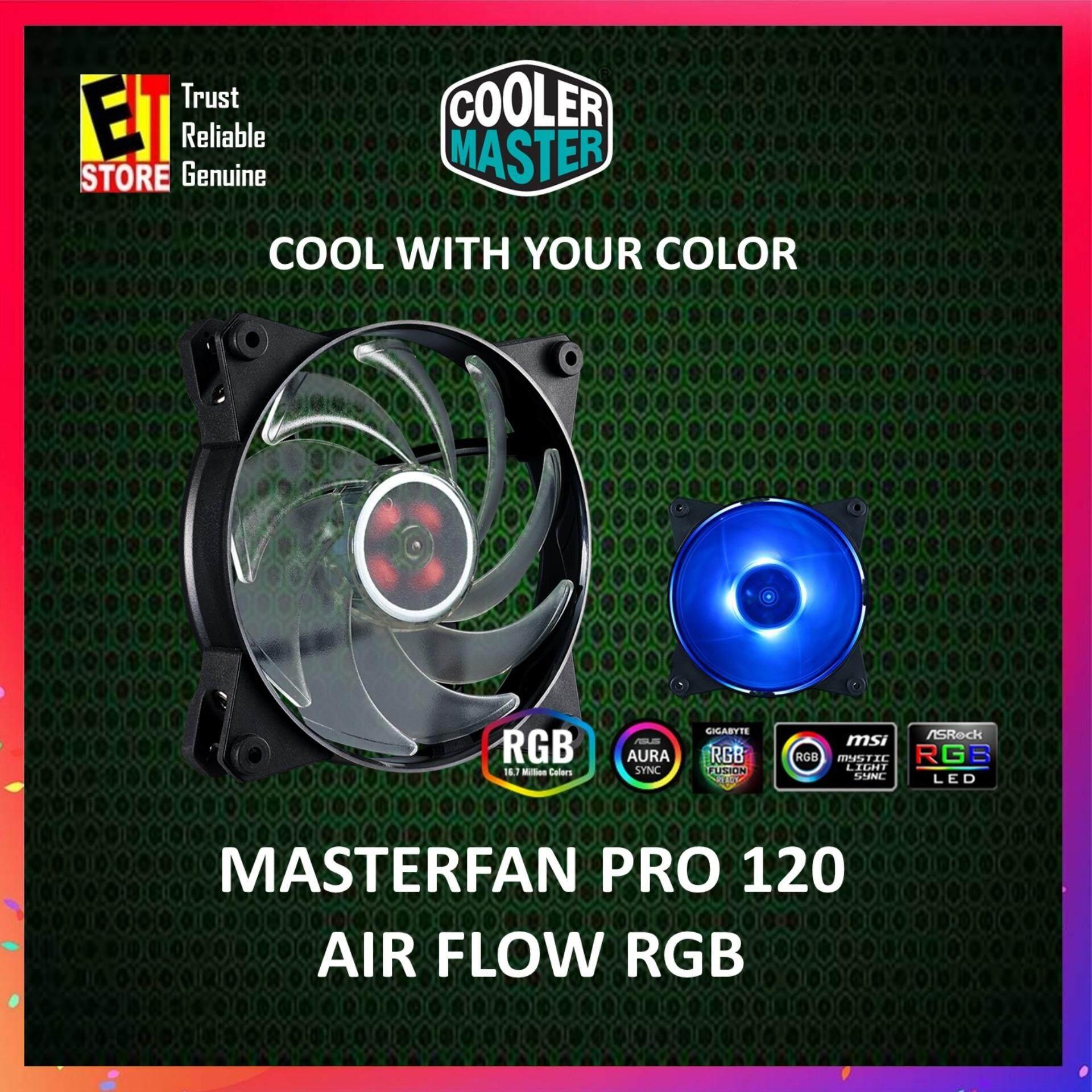 COOLER MASTER MASTERFAN PRO 120 AIR FLOW RGB -MFY-F2DN-11NPC-F1