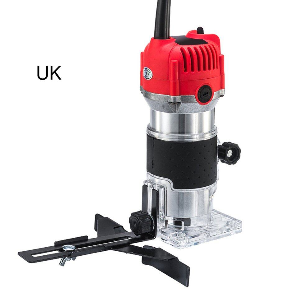 HERE Woodworking Electric Trimmer Wood Milling Engraving Slotting Trimming Machine