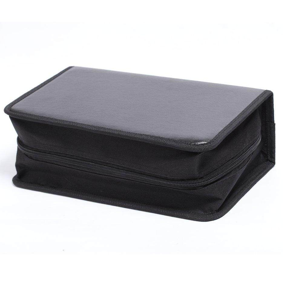 Hot Sellers 128 Disc CD Box DVD Storage Case Carrying Bag Organizer PU Leather Holder